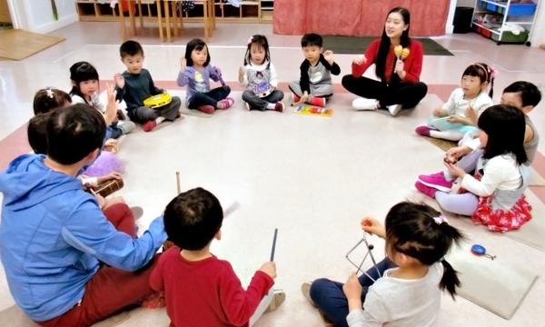 Brainbridge preschool music class